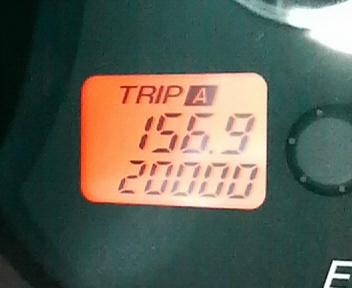 チャレンジ20,000km