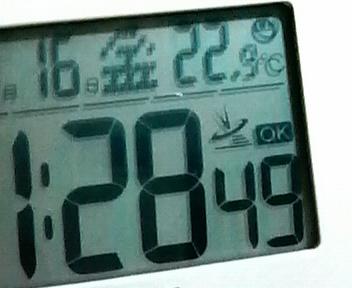 電波きた時計