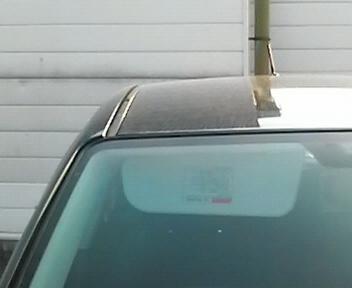 車の日除け